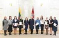 Lietuvos Respublikos Prezidentės D. Grybauskaitės ir Vyriausybės dėmesys jauniesiems Alytaus miesto talentams