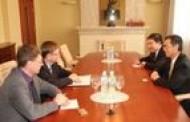 Teisingumo ministras susitiko su Kinijos ambasadoriumi