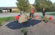 Gražiname Berteškių kaimo aplinką