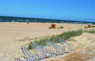 Į Palangos paplūdimį – su dviračiais