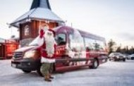 Kalėdų Senelio svečiams – lietuvių kurtas autobusas