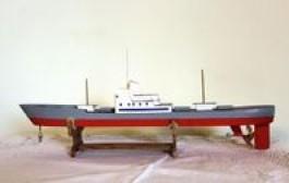 Laivų modeliais – per svajonių vandenynus