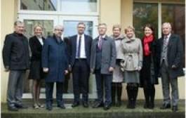 Spalio 13 d. Jurbarko rajono savivaldybėje lankėsi Lietuvos Respublikos socialinės apsaugos ir darbo ministras Linas Kukuraitis