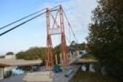 Šventojoje remontuojamas beždžionių tiltas