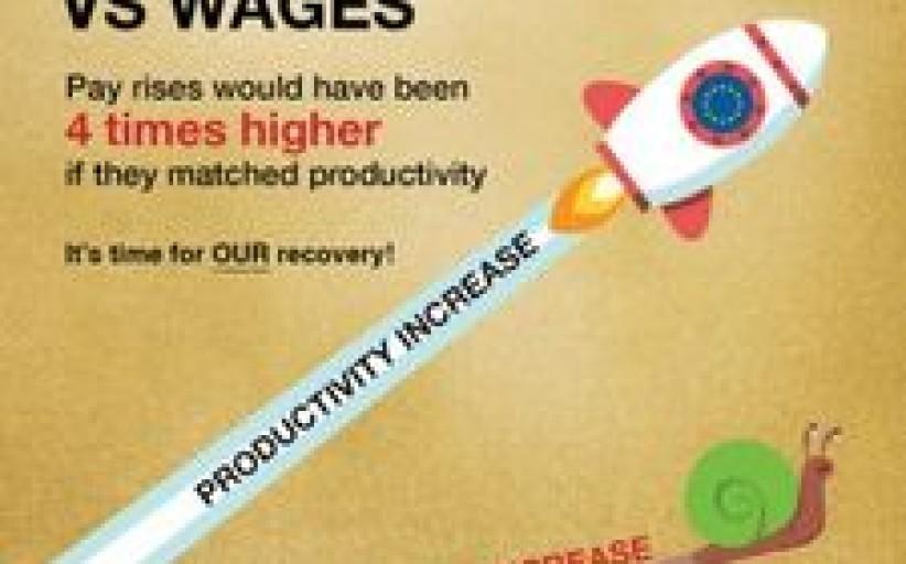 Raketos greičiu didėjantis atotrūkis tarp darbo našumo ir atlyginimo: laikas veikti!