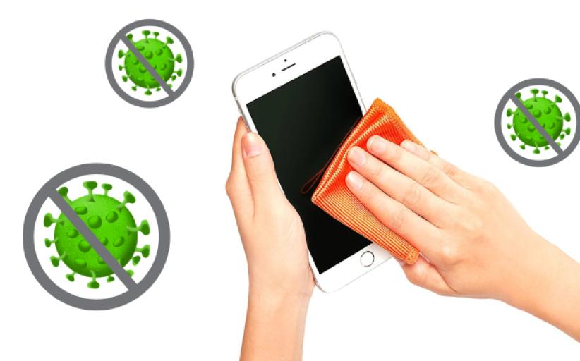 Kaip dezinfekuoti telefoną ir jo nesugadinti?