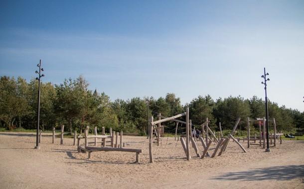 Dar viena nauja poilsio erdvė Klaipėdos paplūdimyje – Pirmojoje Melnragėje