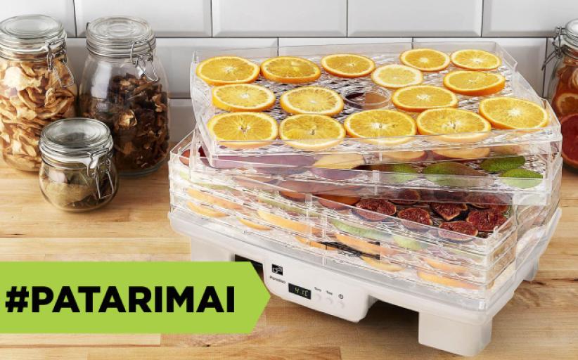 Kaip teisingai džiovinti vaisius bei daržoves ir kaip išsirinkti kokybišką vaisių ir grybų džiovyklę?