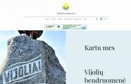 Vijolių kaimo bendruomenės internetinė svetainė – naujas bendravimo būdas