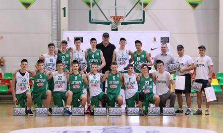 Lietuvos U15 krepšinio rinktinėje – net trys plungiškiai