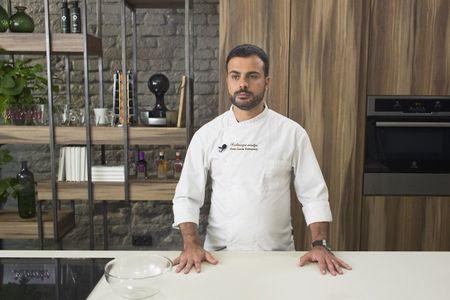 """Virtuvės šefas Gian Luca Demarco: """"Pavalgęs dėkoju Dievui"""""""
