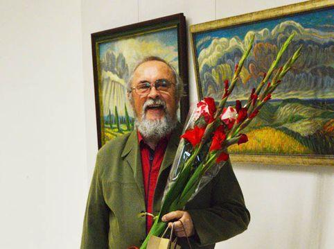 Dailininko Vladimiro Sušilovo kūryba pristatyta Kražiuose