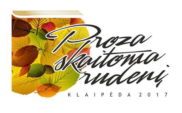 """Proza skaitoma rudenį"" Klaipėdoje"