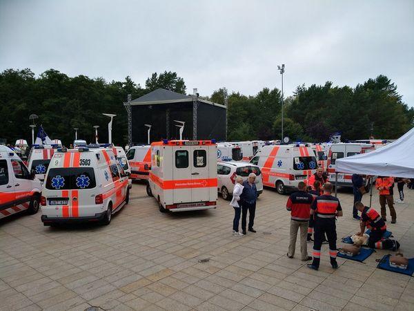 Geriausi greitosios medicinos pagalbos ekipažai vėl varžysis Palangoje – gatvėse aidės sirenos, bus teikiama skubioji pagalba