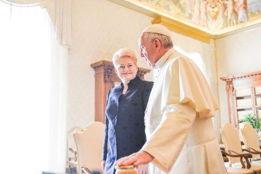 Prezidentei – Popiežiaus Pranciškaus laiškas