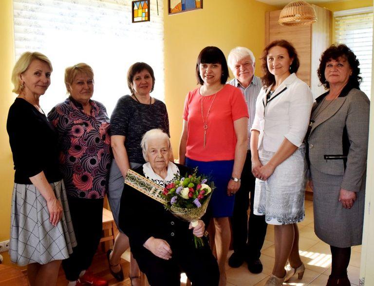 Pasveikinta 90-metė Bronislava Vaivadienė!