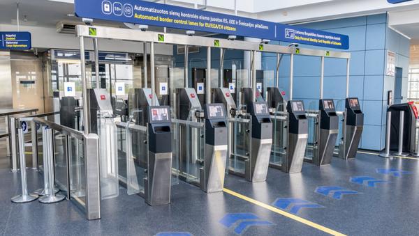 Automatiniai patikros vartai pagreitina pasienio kontrolę