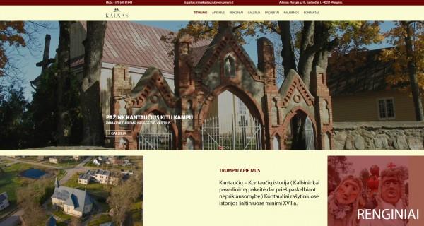 """Naujoje Kantaučių bendruomenės """"Kalnas"""" internetinėje svetainėje – informacija apie organizacijos veiklas"""